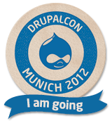 DrupalCon Munich 2012 - I am Going!
