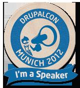 DrupalCon Munich 2012 -  I'm a speaker!